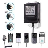 Tuya WiFi vidéo sans fil Sonnette caméra Adaptateur secteur US UK EU Plug 18V AC Transformateur Chargeur IP vidéo Intercom Anneau 110V-240V