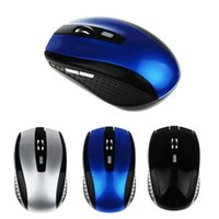 Tragbare optische USB Wireless Mouse PC Laptop Win 7 USB Bluetooth Maus 2.4 GHz Gaming Computer Mäuse
