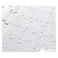 Пустые сублимационные головоломки A4 головоломки с 120 шт. DIY Тепловой пресс Передача ремесел головоломки Office sqcjrg bdenet