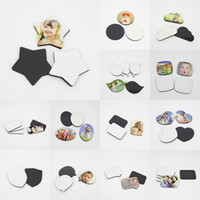 15 Stil Sublime Blank dolabı Magnet MDF Blank dolabı Magnet Can DIY Fotoğraf Ev Dekorasyon XD24104