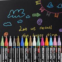 15 ألوان / مجموعة 2 ملليمتر الاكريليك الطلاء ماركر القلم للسيراميك الصخور الزجاج الخزف القدح الخشب النسيج قماش اللوحة بمناسبة مفصلة 201102