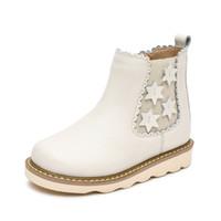어린이 부츠 소녀 가을 겨울 어린이 신발 아이들을위한 영국 스타일 부츠 아기 소녀 학생 발목 부츠