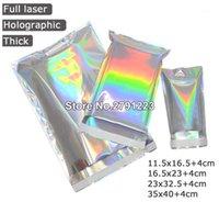 Самозаметочные клейкие курьерские сумки лазерные голографические пластиковые полиэлиристовые почтовые почтовые доставки почтовые сумки косметика нижнее белье1