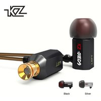 KZ ED9 Heavy Bass Earbuds Super Bowl Tuning Nozzles Earphone...
