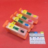 Mürekkep Kartuşları Yotat Boş Doldurulabilir Kartuş 53425 53422 53423 53424 Primera LX900 Printer1 için