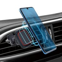 Supporto per auto universale a 360 gradi Bracket magnetico Air sfiato del supporto del telefono Desktop Magnete Mount per iPhone 12 11 x xs max GPS