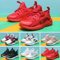 Huarache I Kids Shoes para Homens Mulheres Sapatos Esportivos Triple Black White Gold Huraches 1.0 4.0 Womens Mens Huaraches Trainer Sneakers