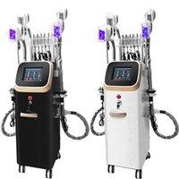 Ультразвуковая кавитационная машина для похудения для красоты Центр 4 ручки Cryo кавитационный жир замерзший жир