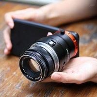 Per Ulanzi DOF Lens Adapter E Mount full frame Photography Letti per fotocamera Adattatore Smartphone SLR / DSLR Lente fotocamera Hot1
