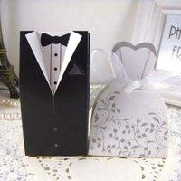 Spedizione gratuita + Nuovo Arrivo Sposa e sposo Box Scatole di nozze Bomboniere Bomboniere Bomboniere 108 N2