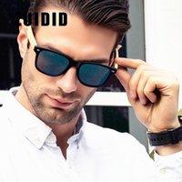 Güneş Gözlüğü Zuidid Marka Bambu Erkekler Kadınlar Klasik Kare Gözlüğü Moda Retro Polarize Güneş Gözlükleri Kadın Gözlük UV4001