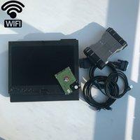 WiFi MB نجمة SD C6 X-DOIP DOIP مع X200T 4G مثبتة مع MB SD C6 2020.12V أحدث HDD