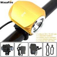 Fietsverlichting wasafire 2500 Lumen XM-L2 LED Light Headlamp Koplamp 3 Modi Fietslamp Outdoor Fietsen Accessoires
