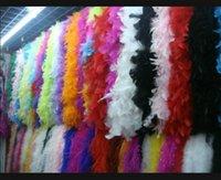 2m 40g Feder Boa Glam Flapper Tanz Fancy Dress Kostüm Zubehör Feder Boa Schal Wrap Kostenloser Versand