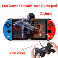 X40 16G Video Game 7. 1 inch LCD Double Rocker Portable Handh...