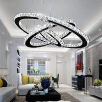 الحديثة K9 كريستال بقيادة أضواء الثريا الرئيسية الإضاءة كروم بريق ثريات السقف قلادة مصباح غرفة المعيشة