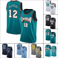 12 ja Morant Jersey 13 Jaren Jackson Jr. Jerseys MemphisGrizzliesJersey Throwback to Vancouver Green Jersey