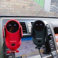 S11 الذكية الأشعة تحت الحمراء الاستشعار شاحن لاسلكي سيارة التلقائي سيارة حامل الهاتف المحمول قاعدة شاحن لاسلكي