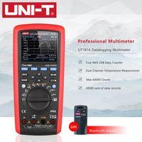 UNI-T UT181A Dijital DataLogging Multimetre Akıllı Gerçek RMS Otomatik Aralığı Bluetooth Modülü ile Çift Sıcaklık Ölçümü