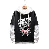 Männer Frauen Hoodies Anime Tokyo Ghoul Pullover Hoodie Sweatshirt Sportswear Studenten Oberbekleidung Cosplay Kostümmäntel Jacke Jumper 201116