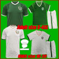 사이즈 S-4XL 2021 아일랜드 축구 유니폼 2122 홈 멀리 공화국 공화국 국립 대표팀 태국 품질 유니폼 축구 셔츠