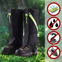 AreyourShop Escursionismo Escursionismo Caccia Snow Sand Sand Impermeabile Stivali Supporto Cover Legging Ghette Ghettes Articoli Sportivo Accessori Accessori