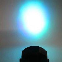 Новейший дизайн движущийся головной свет 30W 18-RGB светодиодный авто / голосовой контроль DMX512 высокая яркость мини яркости Мини-качественный этап лампы (AC 110-240V) черный * 10