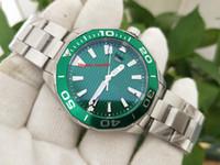 Бесплатная доставка Топселлер высокого качества Новые продукты Наручные часы 42 мм Зеленый циферблат Asia Механические автоматические мужские мужские часы мужские часы
