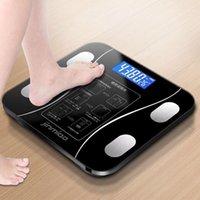 QDRR Home Home Body Fat Scale intelligente Sans fil Digital Balance Balance Balance Composition corporelle Analyseur avec Application Smartphone Bluetooth1