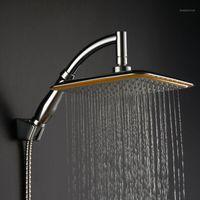 Оптово-большие квадратные ABS Chrome Water Rachide House с удлинительной рукой для ванной комнаты для ванной комнаты для ванной комнаты для душевой головки MAMITR1