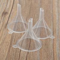 미니 투명 플라스틱 작은 굴뚝 향수 에센셜 오일 빈 병 액체 서브 패키지 굴뚝 주방 도구 T2I51620
