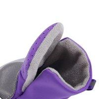 Вентиляция домашних животных Обувь для собак Мягкие ботинки с безопасной светоотражающей полосой мягкой обувной подошвой удобной собачкой одежда для Teddy Bichon Pet PPC1043