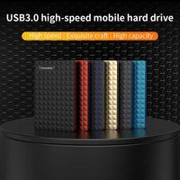 2.5 '' External Hard Drive USB 3.0 colorato metallo HDD esterno portatile HD Hard Disk per desktop portatili offerte super server