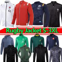Весь регби Куртка Черная Шотландия Красный Уэльс Ирландия Французский 2021 Мужчины Регби Потрясающие толстовки Куртки Tracksuits Новый