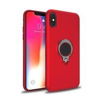 Cassa del telefono antiurto per Samsung Galaxy S8 Plus Case Case Luxury TPU Dito Anello per auto Caso di armatura per i