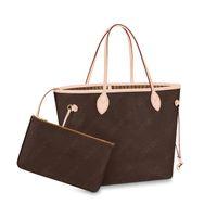 فرنسا أزياء المرأة أكياس التسوق كيس مركب الكلاسيكية قماش حقائب اليد حقائب الكتف crossbody أكياس مخلب محفظة محفظة M41178