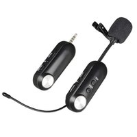 Wireless Microphone Clip- on Collar Tie Microphone Mobile Cel...