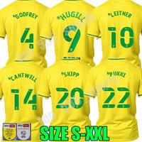 20 21 Norwich City Futebol Jerseys 2020 2021 Buendia Hernandez Jersey Roberts Vrancici Pukki McLean Homens Futebol Uniformes
