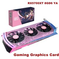 Yeston RX5700XT 8GD6 YA GDDR6 8GB 2560 Einheiten 1770/1905 / 2010 MHz / 14GHz RGB Atem Lampe Gaming-Grafikkarte