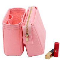 يناسب NEO NOE إدراج أكياس منظم ماكياج حقيبة يد تنظيم السفر الداخلية محفظة المحمولة مستحضرات التجميل قاعدة المشكل ل Neonoe LJ201008