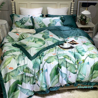 4pcs Pure Cotton Fashion Bedding Sets 60s Soft Touch High Qu...