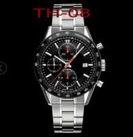 새로운 남자 Heuer 시계 스테인레스 스틸 자동 이동 시계 남자의 기계식 시계 남자 패션 스포츠 손목 시계