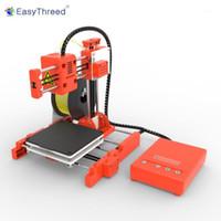 EasyThreed 미니 데스크탑 어린이 3D 프린터 100 * 100 * 100mm 인쇄 크기 높은 정밀도 tf 카드 pla filament1