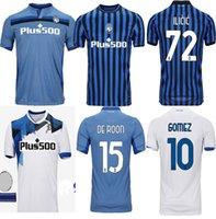New 2020 2021 Atalanta Футбол трикотаж L.muriel Top Atalanta BC Maglia da Calcio Gomez Ilicic Футбол 2021 Джерси Фрейулер де ROON Униформа