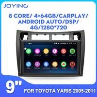 Freude Android 8.1 Stereo-Autoradio 9inch IPS Octa-Kern-GPS-Reciever 2GB + 32 GB / 4GB + 64 GB fortyota Yaris 2005 2006 2007 2011 BT Car DVD