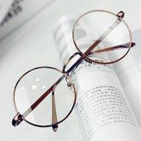 Wholesale- ANEWISH Vintage-Brillen Brillen Rahmen-Frauen-runde Metall optischer Lese Brillen Rahmen Männer oculos feminino de grau j95y #