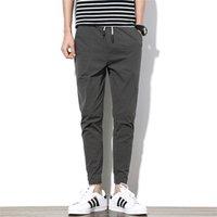 Разборчивые повседневные спортивные штаны скинни мужские бегущие брюки гарем мужские эластичные талии мужские 4XL 5XL 201222