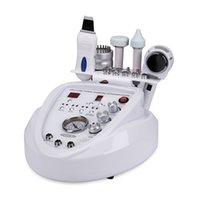 Scrubber di pelle morta ad ultrasuoni Scrubber Hot and Cold Hammer Beauty Facciale Machine Diamond Diamond Dermabrasion Dispositivo