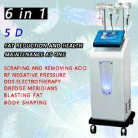 Cavitação da terapia de Cupping Cavitação ultra-sônica 5D que esculping o corpo do instrumento RF que dá forma à máquina de emagrecimento
