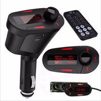 2020 Araba MP3 Çalar Bluetooth Kiti FM Verici Modülatörü USB MMC LCD Uzaktan Sıcak Satış ile Yeni Gelmesi